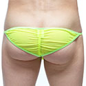 String Pli Transparent Jaune PQ160897