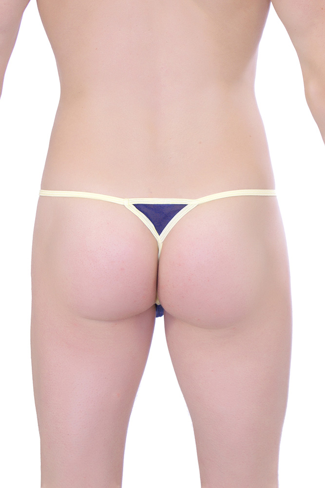 String Goutte d'eau Transparent Navy PQ161063