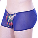 Boxer Floral Transparent